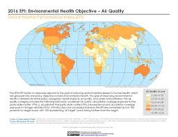 Robinson Map Maps Environmental Performance Index 2016 Release Sedac