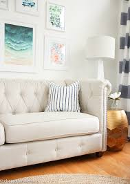 choosing a light coloured sofa even with kids the happy housie