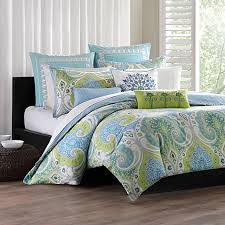Echo Bedding Sets Echo Design Comforter Sets Sardinia Set 100 Cotton Bed Bath Beyond