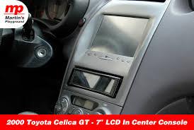 toyota celica 2000 toyota celica gt u2013 7 u2033 lcd in center console martin u0027s playground