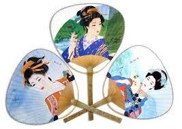 paddle fans paddle fans 3 pack japanese geisha paddle fan set