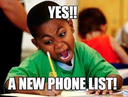 New Phone Meme - meme creator yes a new phone list meme generator at memecreator