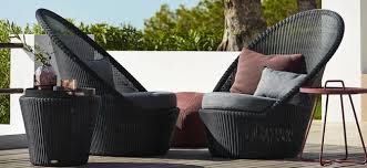 Outdoor Furniture Collections By Thos Baker - Black outdoor furniture