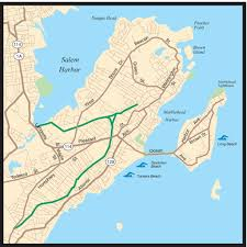 Map Of Salem Massachusetts by Marblehead Rail Trail Salem Bike Path