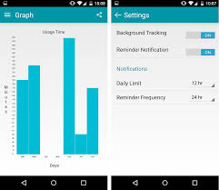 instant android track your device usage with material design
