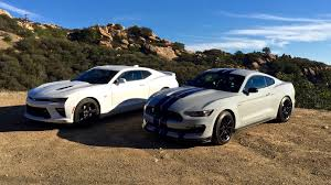 ford shelby gt350 vs chevy camaro ss video throwdown