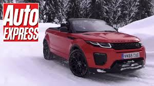 land rover convertible range rover evoque convertible review we test lr u0027s off road show