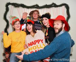 ugly christmas sweater party rad the rest