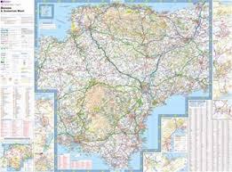somerset map and somerset ordnance survey tour map
