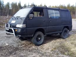 mitsubishi l300 delica 4wd 4x4 1992 used vehicle nettiauto