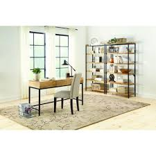 Homes Decorators Collection Home Decorators Collection Anjou Natural Desk With Storage