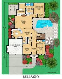 First Floor House Plans bellagio traditional house plans luxury house plans