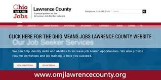 ohiomeansjobs u2013 lawrence county one stop center community action