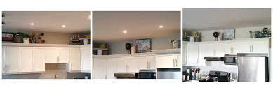 How To Decorate Above Cabinets by Personal Decorating Above Kitchen Cabinets Diy U2013 The Joys Of Jodi