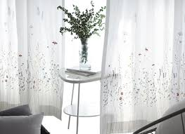 Embroidered Sheer Curtains Embroidered Sheer Curtains Eulanguages Net