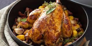 cuisiner poulet entier poulet rôti en cocotte facile et pas cher recette sur cuisine