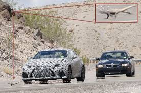lexus rcf sedan lexus rc f spied in the desert with is f bmw m3