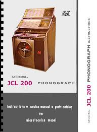 manuale completo manual jukebox rowe ami microtecnica jcl 200