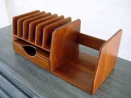 Wood Desk Organizer Wooden Desk Organizer Home Design Lover Choose The Best Of