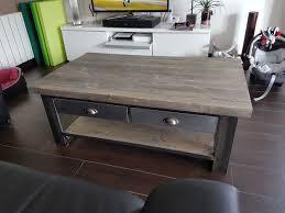 Table Basse Verre Roulette Industrielle by Table Basse Sur Roulettes Conforama Quelle Table Basse Avec Un