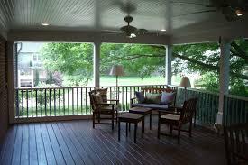 screened porch interior photos