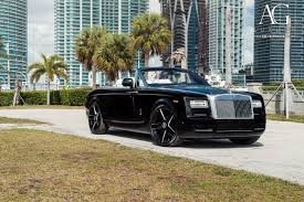 black rolls royce ag luxury wheels rolls royce phantom drophead coupe forged wheels
