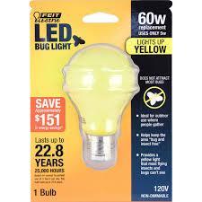 bug light light bulbs 60w equivalent yellow colored a19 led bug light bulb marketing