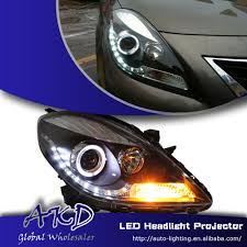 nissan sunny 2013 one stop shopping styling for nissan sunny led headlight 2013