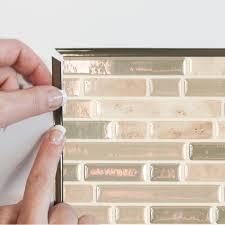 Bellagio Sabbia Peel And Stick Tile Backsplash Online Shop - Smart tiles backsplash