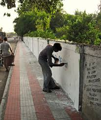 wall painters stock pictures wall painters in india