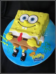 spongebob cake ideas awesome sponge bob cake pastissos dibuixos