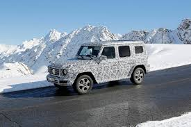 mercedes benz g class 2017 2017 mercedes benz g class spy shots in the alps gtspirit