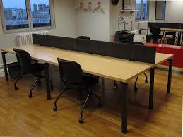 cloison bureau occasion bench haworth 4 postes avec cloison adopte un bureau