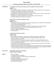 resume exles objective general english by rangers schedule park manager resume sles velvet jobs
