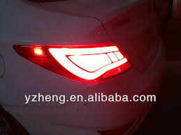 hyundai accent lights car accessories for hyundai accent l rear light 2011 up