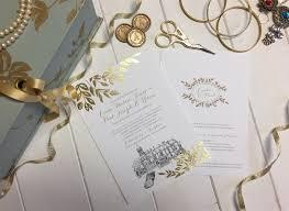 wedding invitations kildare fall foliage wedding invitation foil wedding inspiration