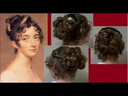 hair style of 1800 natural hairstyles for hairstyles ball party fancy regency era