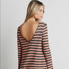 58 off free people dresses u0026 skirts free people striped sweater