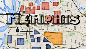 Eastern Tennessee Map by The Real Streets Of Memphis Hoods And Memphis Gangs Areas