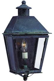 Sconce Outdoor Banford Colonial Wall Sconce Copper Lantern Wall Light