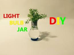 How To Make A Light Bulb How To Make Homemade Light Bulb Jar 4 Steps