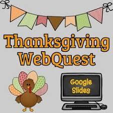thanksgiving webquest printable booklet thanksgiving social