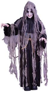 Deluxe Kids Halloween Costumes Boys Zombie Costume Reaper Kids Halloween Monster Childs Deluxe