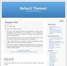 from kubrick to twenty sixteen a history of wordpress default