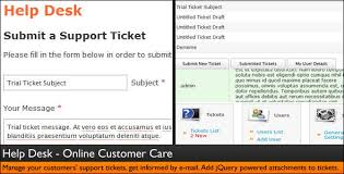 help desk ticket form help desk customer service ticket system by dijitals codecanyon