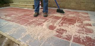Concrete Patio With Pavers A Patio With Slabs Diy Extending Concrete Patio With Pavers