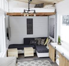 Tiny Houses Inside Open Concept Rustic Modern Tiny House Photo Tour And Sources Ana