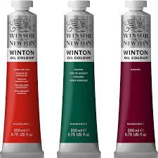 winsor u0026 newton winton oil 200ml oil paint paint