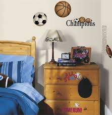 sports murals for bedrooms hockey wall graphics soccer goalie decals player decal sports