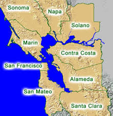 san francisco map east bay about the county sustainability alameda county